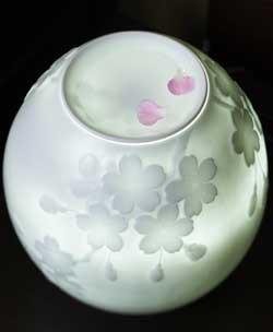 石井康行の白磁ランプ