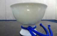 白磁の馬上杯